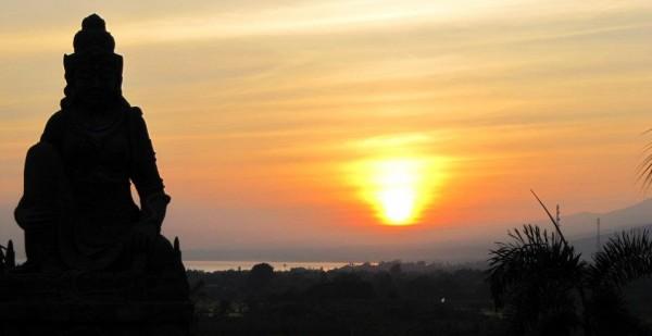 Buudha at Sunrise